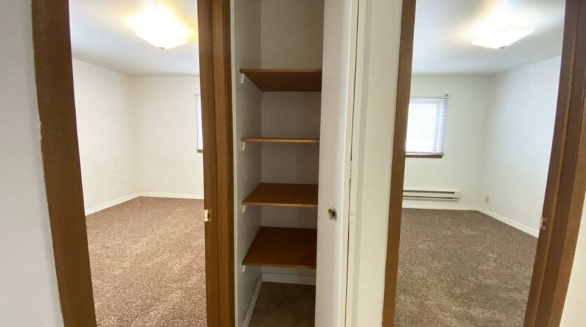 Winsor Apartments in Mitchell, SD - Linen Closet