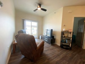 Lake Area Townhomes Phase IIB in Madison, SD - 1 Bedroom Living Room 2