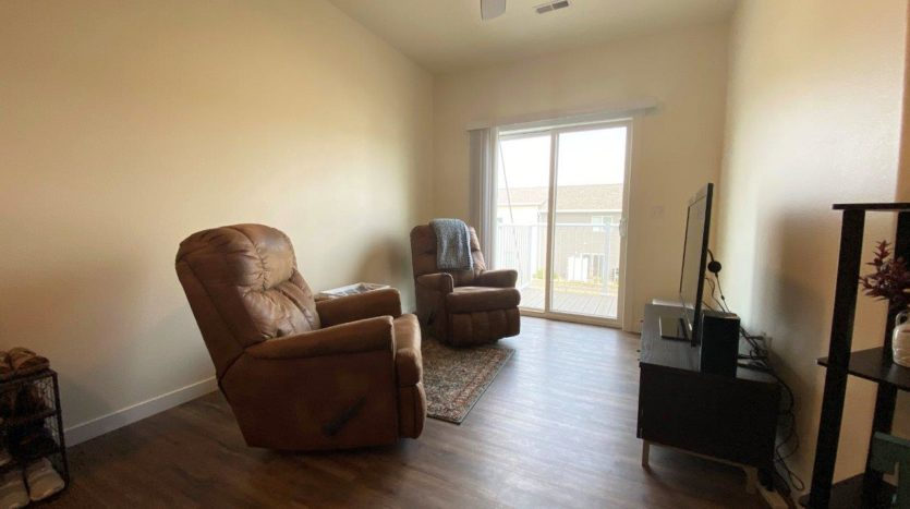Lake Area Townhomes Phase IIB in Madison, SD - 1 Bedroom Living Room