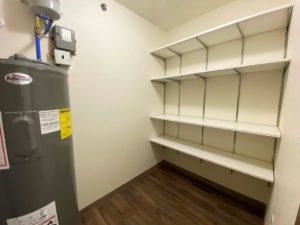 Lake Area Townhomes Phase IIB in Madison, SD - 2 Bedroom Closet of Laundry Room