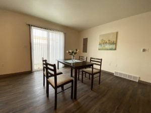 Lake Area Townhomes Phase IIB in Madison, SD - 2 Bedroom Dining Room