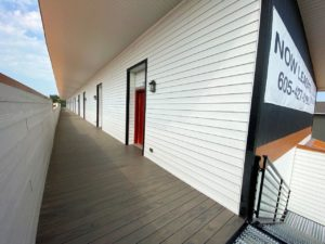Lake Area Townhomes Phase IIB in Madison, SD - Upper Level Walkway