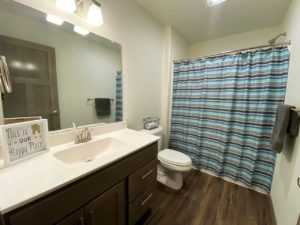 Lake Area Townhomes Phase IIB in Madison, SD - 2 Bedroom Guest Bath