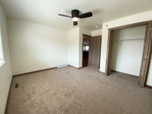 Lake Area Townhomes Phase IIB in Madison, SD - 2 Bedroom Guest Bedroom Closet