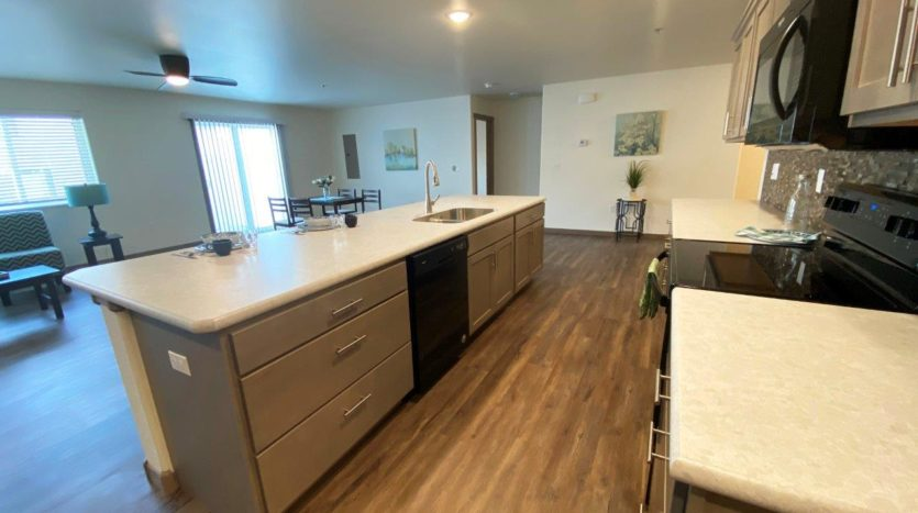 Lake Area Townhomes Phase IIB in Madison, SD - 2 Bedroom Kitchen 3