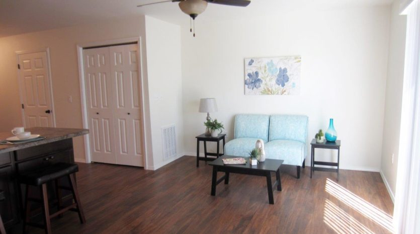 Lake Area Townhomes Phase II in Madison, SD - Living Room