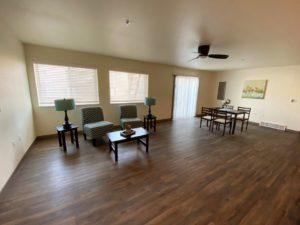 Lake Area Townhomes Phase IIB in Madison, SD - 2 Bedroom Living Area