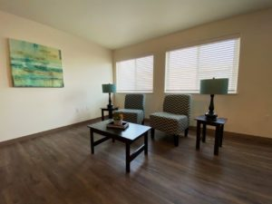 Lake Area Townhomes Phase IIB in Madison, SD - 2 Bedroom Living Room
