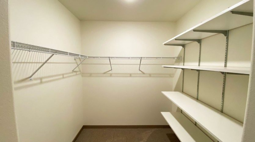 Lake Area Townhomes Phase IIB in Madison, SD - 2 Bedroom Master Closet