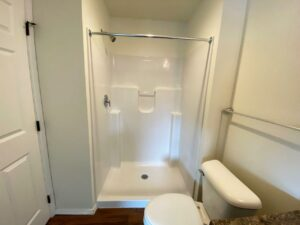 Lake Area Townhomes Phase II in Madison, SD - Floor Plan Bathroom Shower