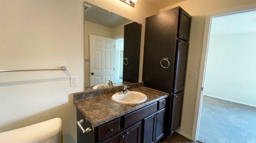 Lake Area Townhomes Phase II in Madison, SD - Floor Plan Bathroom Vanity