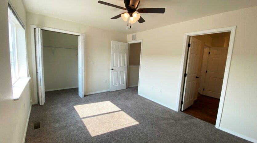 Lake Area Townhomes Phase II in Madison, SD - Floor Plan E Bedroom Closet