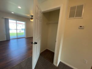 Lake Area Townhomes Phase II in Madison, SD - Floor Plan E Hallway Closet