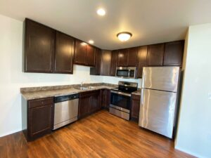 Lake Area Townhomes Phase II in Madison, SD - Floor Plan E Kitchen