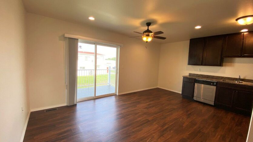 Lake Area Townhomes Phase II in Madison, SD - Floor Plan E Living Area