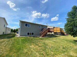 1732 Torrey Pines in Brookings, SD - Backyard and Deck