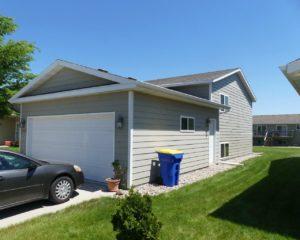 1732 Torrey Pines in Brookings, SD - Exterior Garage View