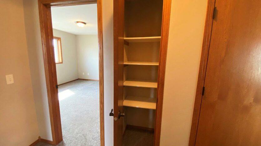 1732 Torrey Pines in Brookings, SD - Upstairs Linen Closet