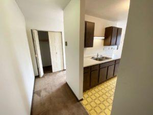 Applecrest Apartments in Big Stone City, SD - Front Closet