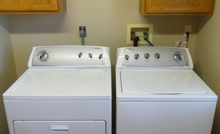 Regency Apartments in Huron, SD - Washer and Dryer