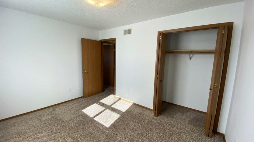 Rockford Apartments in Chamberlain, SD - Bedroom 2 Closet