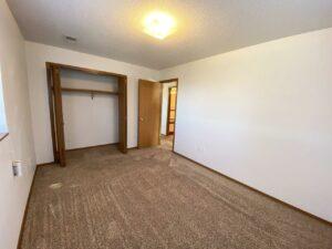 Rockford Apartments in Chamberlain, SD - Bedroom 1 Closet