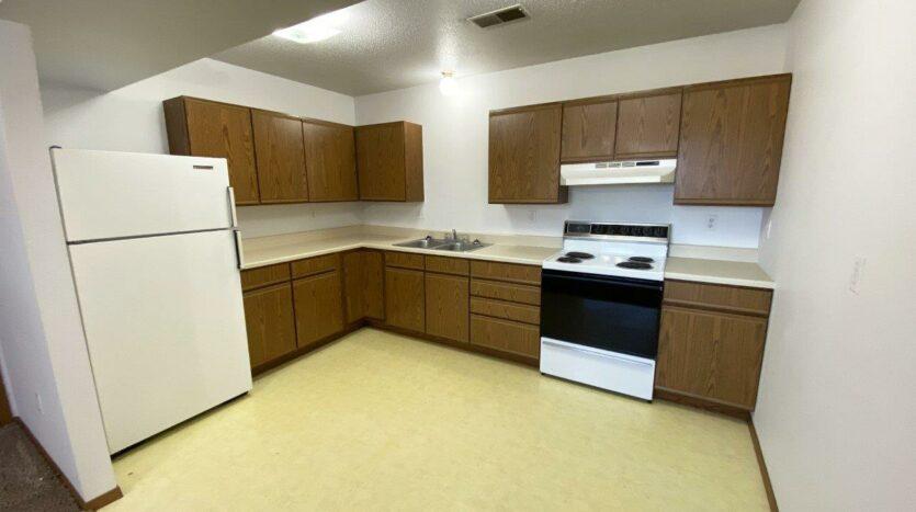 Rockford Apartments in Chamberlain, SD - Kitchen