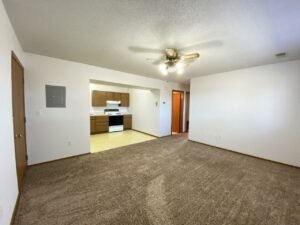 Rockford Apartments in Chamberlain, SD - Living Room