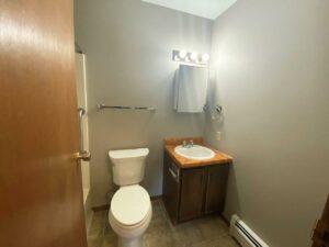 Bluestem Apartments in Canistota, SD - 2 Bedroom Apartment Bathroom