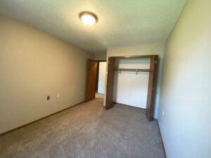 Bluestem Apartments in Canistota, SD - 1 Bedroom Apartment Bedroom Closet