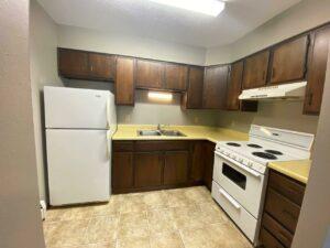 Bluestem Apartments in Canistota, SD - 2 Bedroom Apartment Kitchen