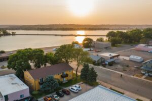 Riverset Apartments in Pierre, SD - View of River