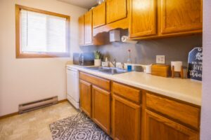 Riverset Apartments in Pierre, SD - 1 Bedroom Kitchen2