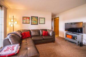 Riverset Apartments in Pierre, SD - 2 Bedroom Living Room