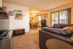 Riverset Apartments in Pierre, SD - 2 Bedroom Living Area