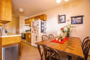 Riverset Apartments in Pierre, SD - 2 Bedroom Kitchen