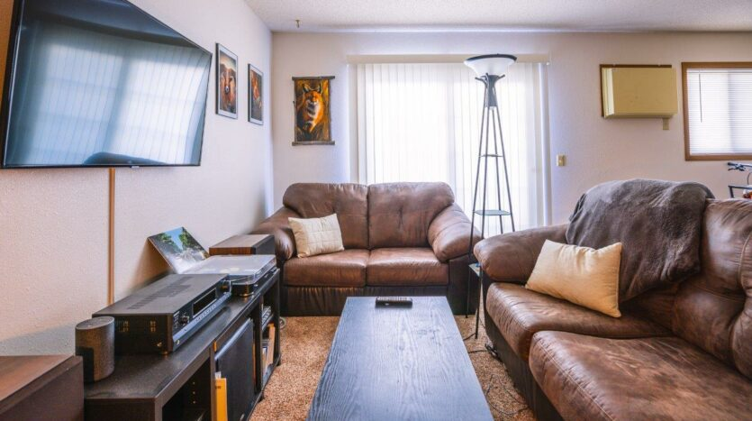 Riverset Apartments in Pierre, SD - 2 Bedroom Alternative Floor Plan Living Room2