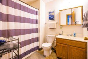 Riverset Apartments in Pierre, SD - 2 Bedroom Alternative Floor Plan Bathroom