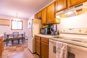 Riverset Apartments in Pierre, SD - 2 Bedroom Alternative Floor Plan Kitchen2
