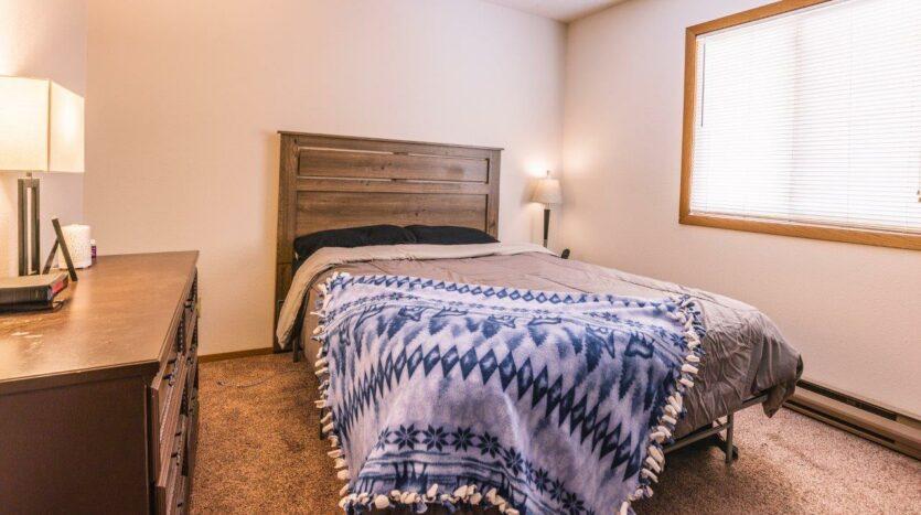 Riverset Apartments in Pierre, SD - 2 Bedroom Alternative Floor Plan Bedroom 2