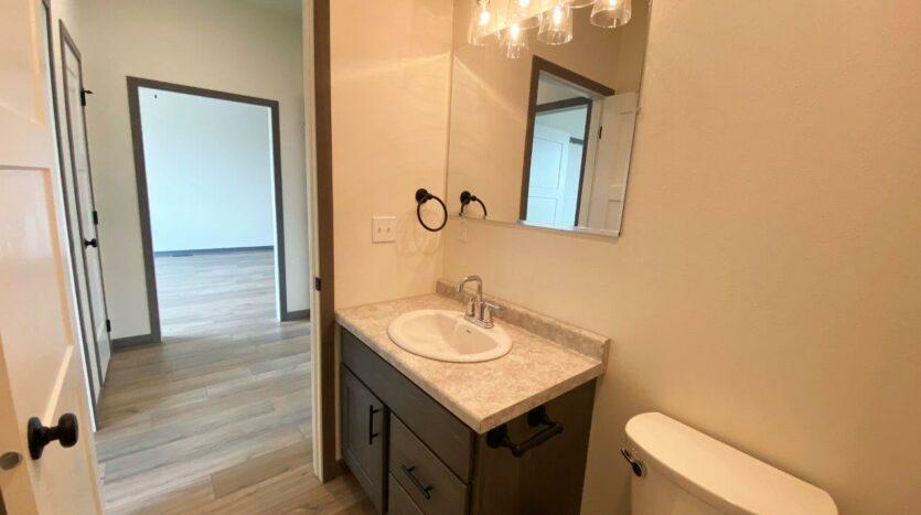 Flats on 8th in Watertown, SD - 2 Bedroom Apartment Bathroom Vanity