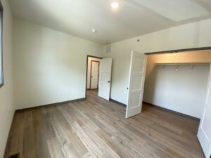 Flats on 8th in Watertown, SD - 2 Bedroom Apartment Bedroom 1 Closet