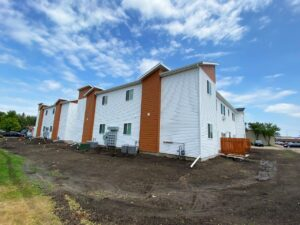 Flats on 8th in Watertown, SD - Exterior