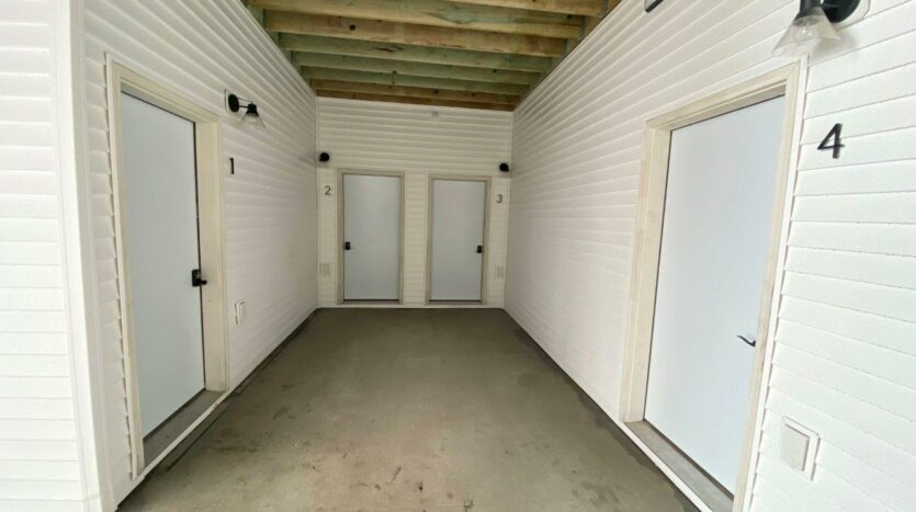 Flats on 8th in Watertown, SD - First Floor Apartment Entrances