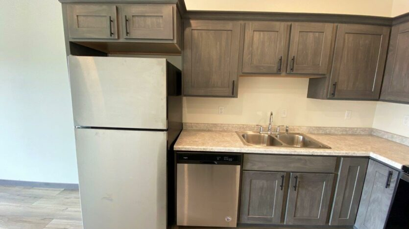 Flats on 8th in Watertown, SD - 1 Bedroom Apartment Kitchen3