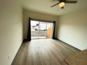 Flats on 8th in Watertown, SD - 1 Bedroom Apartment Living Room