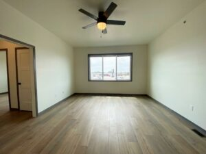 Flats on 8th in Watertown, SD - 2 Bedroom Apartment Living Room