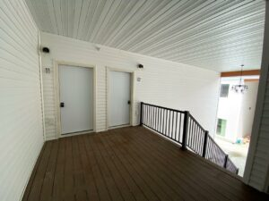Flats on 8th in Watertown, SD - Second Floor Apartment Entrances