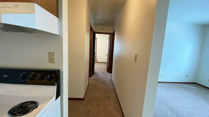 Heritage Apartments in Mitchell, SD - Hallway