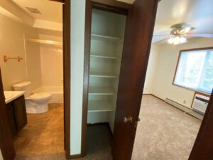 Heritage Apartments in Mitchell, SD - Linen Closet